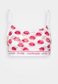 Calvin Klein Underwear - LAYERED LIPS UNLINED BRALETTE - Bustier - red gala - 4