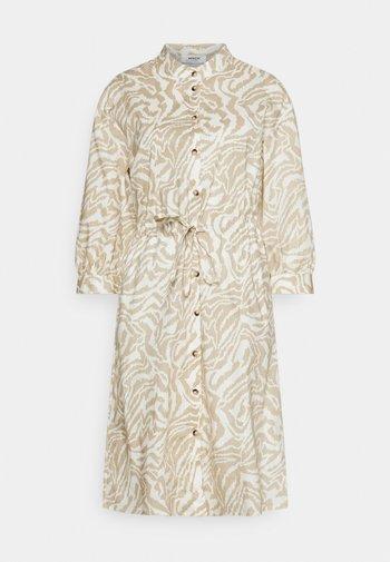 KACEE 3/4 DRESS - Shirt dress - pepper