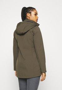 Icepeak - UHRICHSVILLE - Soft shell jacket - dark olive - 2