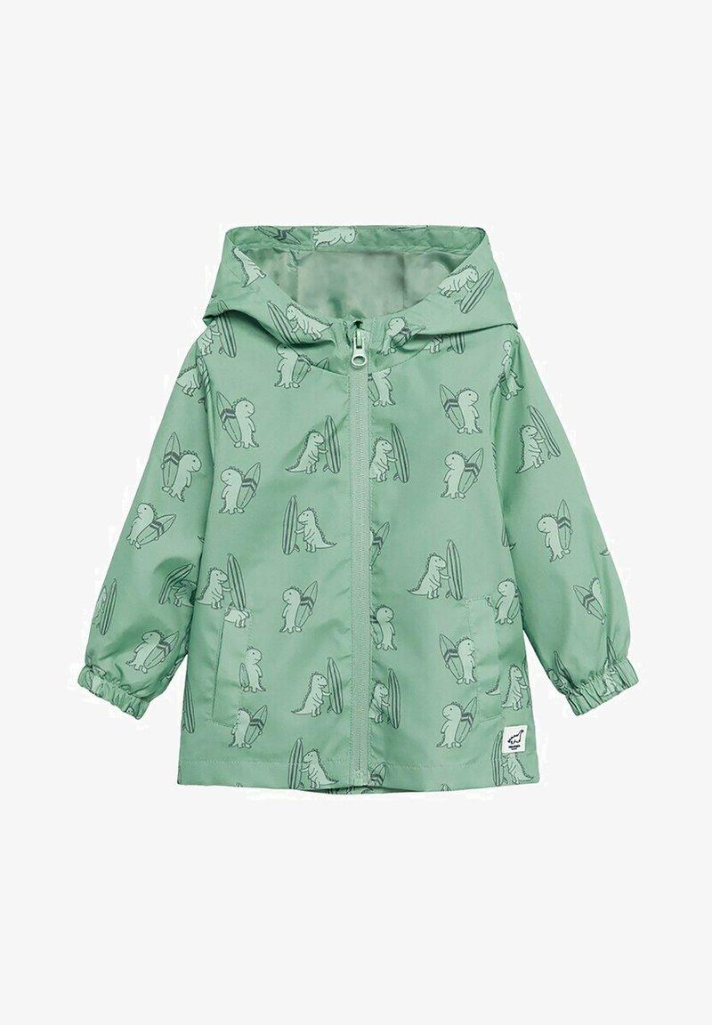 Mango - Waterproof jacket - groen