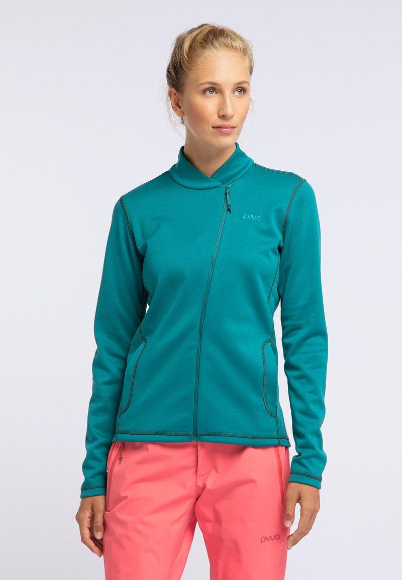 PYUA - APPEAL - Fleece jacket - petrol blue