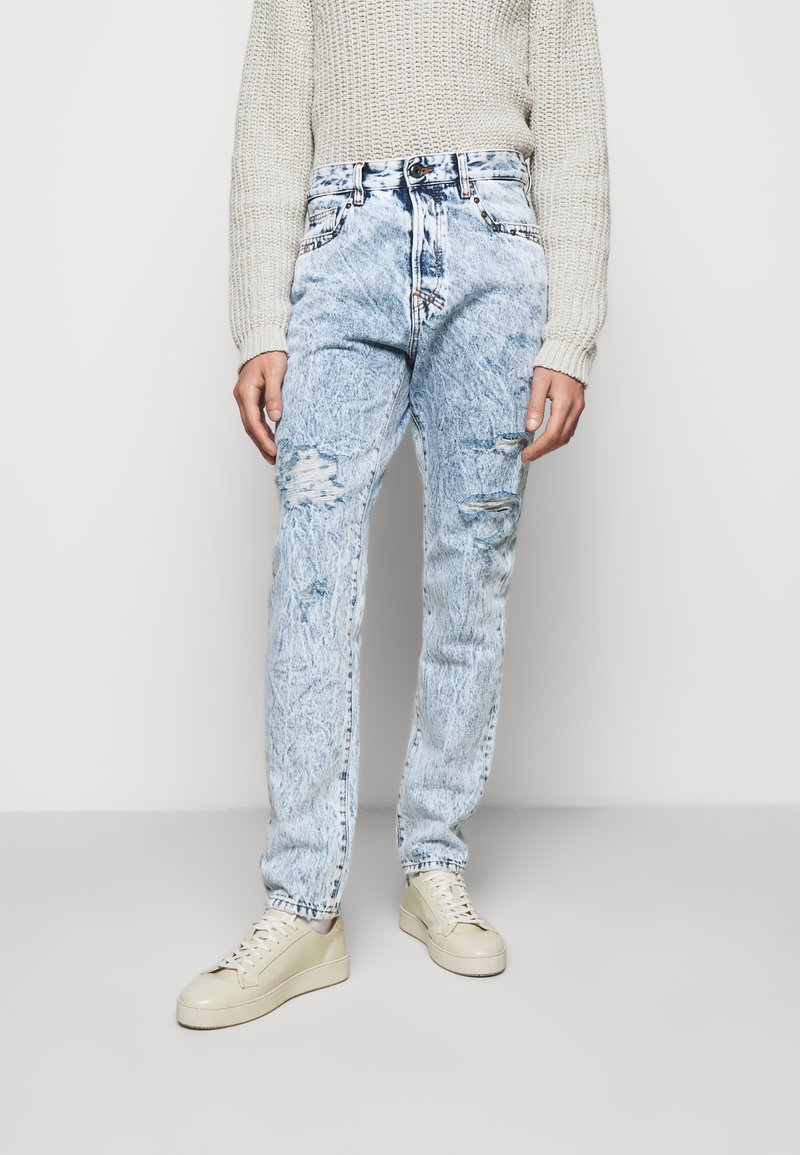 Just Cavalli - PANTALONE - Džíny Straight Fit - blue denim