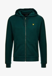 Lyle & Scott - Zip-up hoodie - jade green - 4