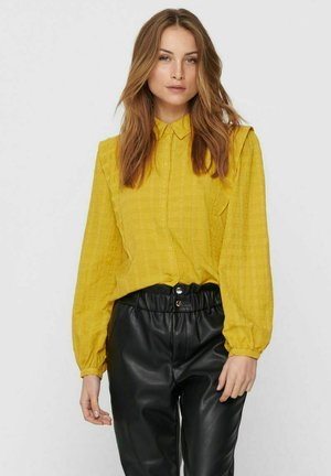 LANGÄRMELIGE - Button-down blouse - mango mojito