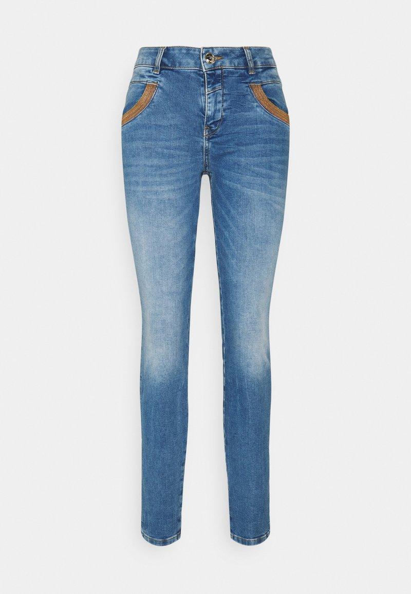 Mos Mosh - AMBER - Skinny džíny - light blue