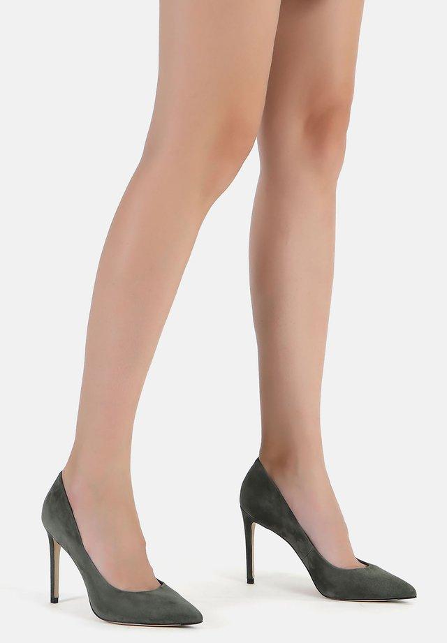 High heels - pistachio