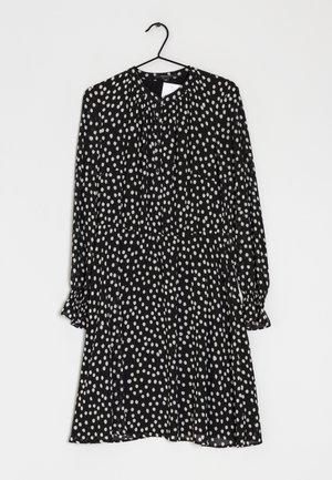 Korte jurk - black, white