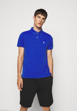 SHORT SLEEVE - Polo - blue heather