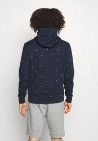 Calvin Klein Golf - ALL OVER PRINT HOODIE - Sweatshirt - navy - 2