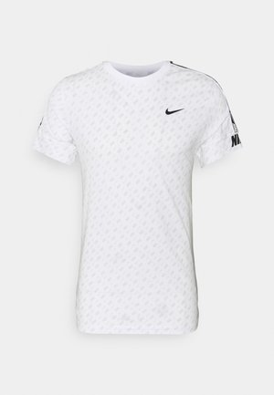 REPEAT TEE - Camiseta estampada - white/black