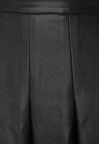 NA-KD - DARTED MINI SKIRT - A-line skirt - black - 2
