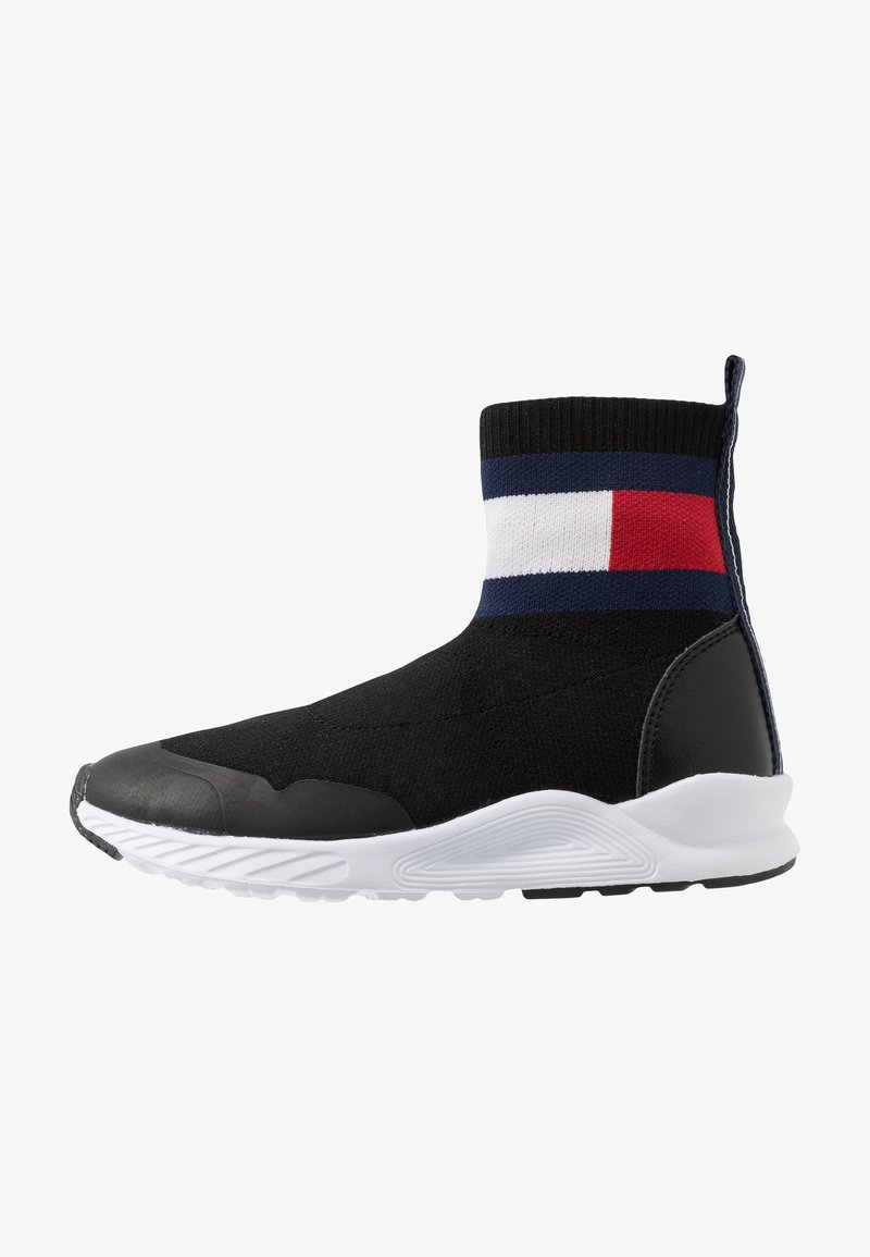 Tommy Hilfiger - UNISEX - High-top trainers - black