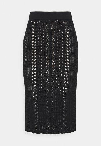 BIGLIARDO - Pencil skirt - black