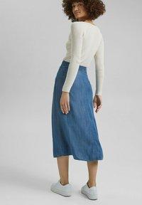 Esprit - Denim skirt - blue medium washed - 2