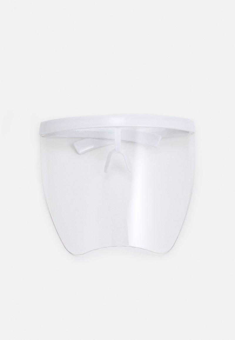 Urban Classics - FRONT VISOR UNISEX - Other accessories - white/transparent