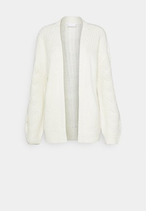 VISEE VNECK CARDIGAN - Cardigan - whisper white