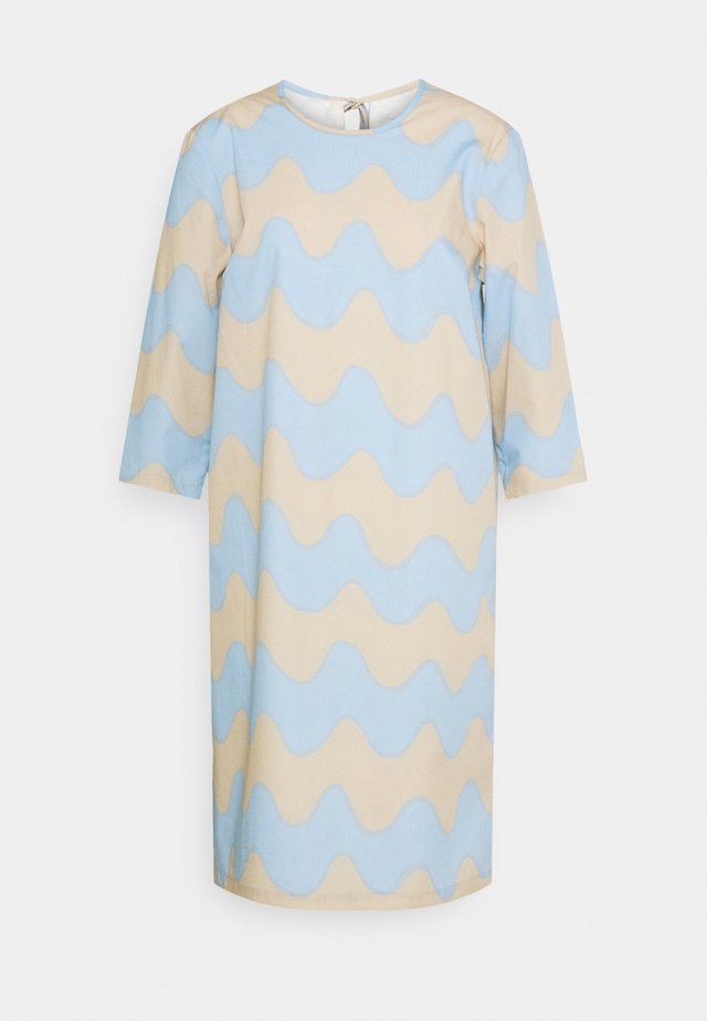 CLASSICS HAVAITTU PIKKU LOKKI DRESS - Korte jurk - blue/sand