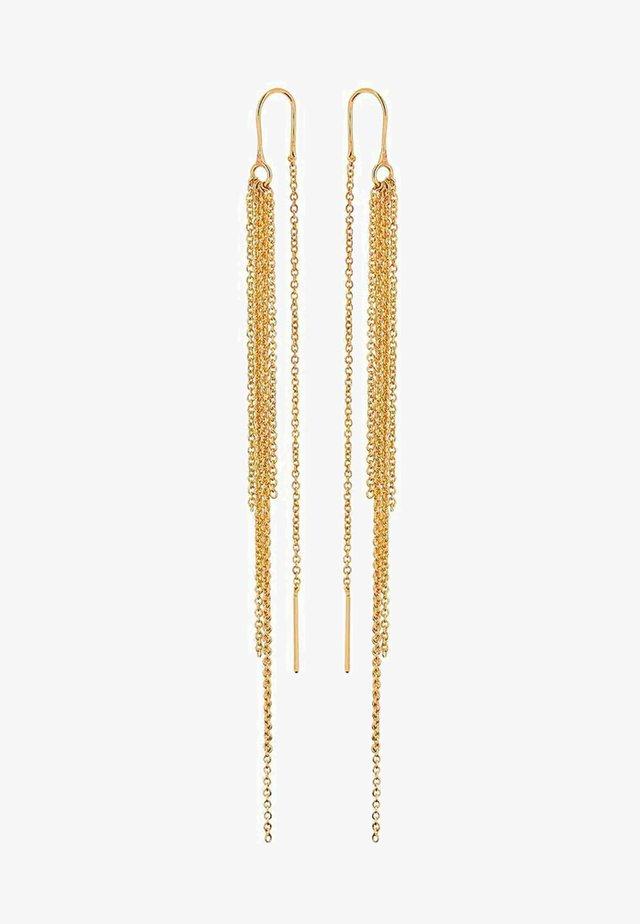 AMBER RAIN - Earrings - gold-coloured