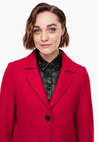 s.Oliver - langarm - Classic coat - dark red - 3