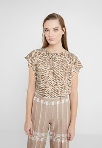 DRYKORN - PAZIA - Blouse - offwhite/olive - 0