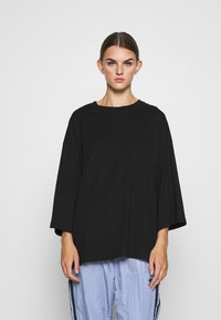 Monki - BILLIE TEE - Long sleeved top - black - 0