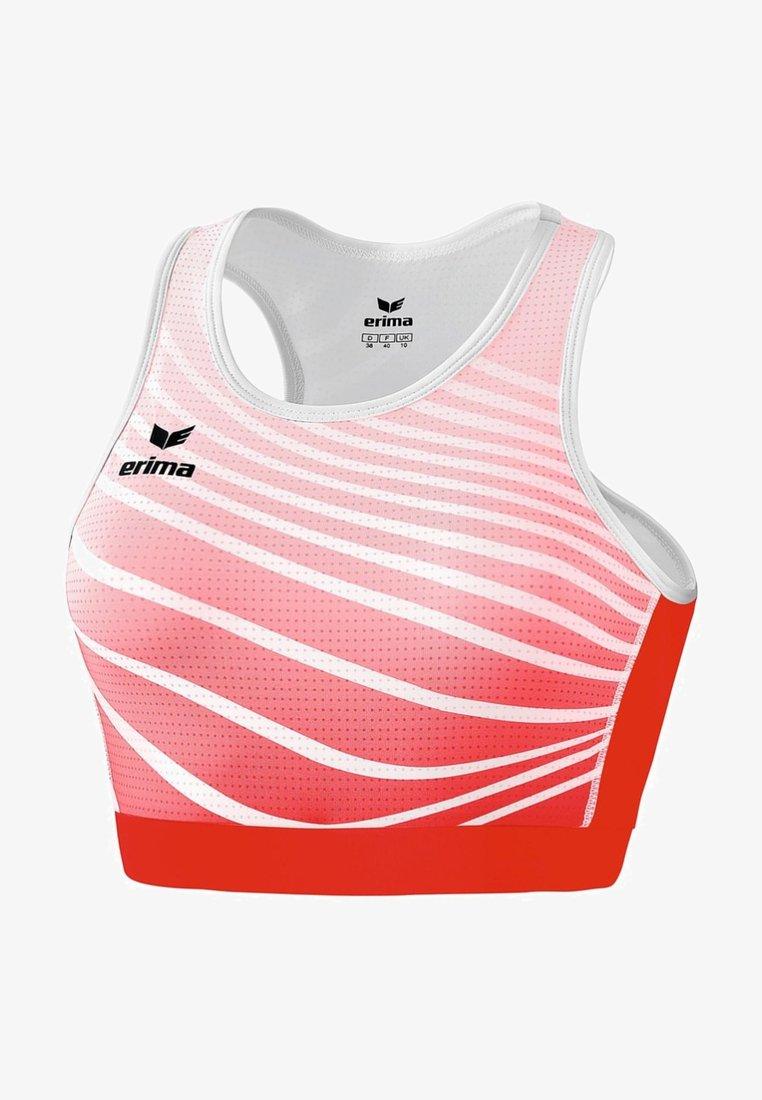 Erima - BRA DAMEN - High support sports bra - red/white