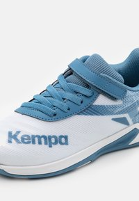 Kempa - WING 2.0 JUNIOR UNISEX - Håndboldsko - white/steel blue - 5