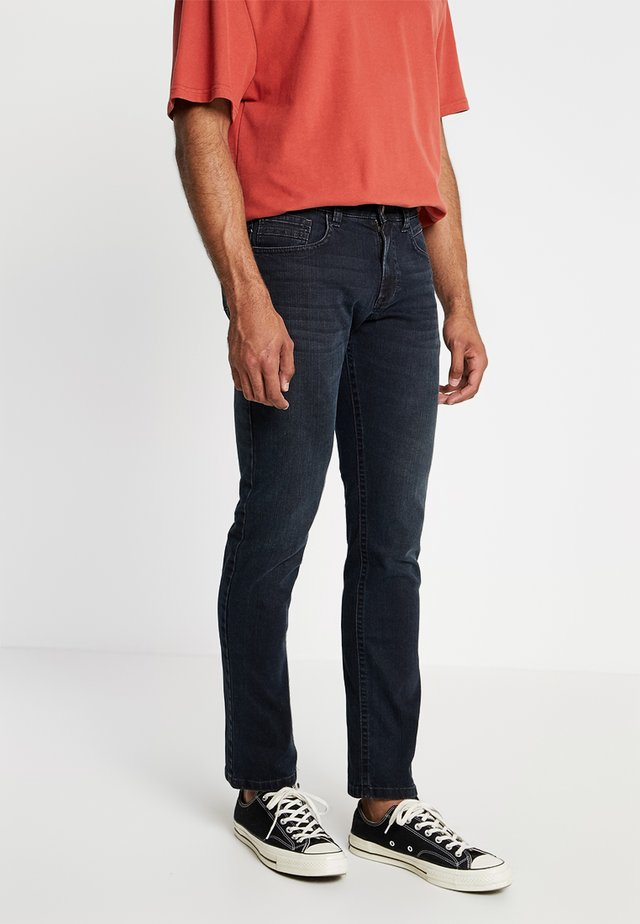 5 POCKET HOUSTON - Džíny Straight Fit - blue black