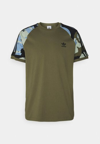 CAMOUFLAGE CALIFORNIA GRAPHICS - T-shirt con stampa - focus olive