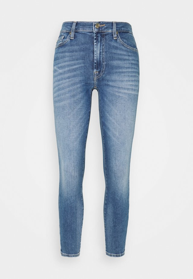 CROP ILLUSION REALITY - Jeans Skinny Fit - light blue