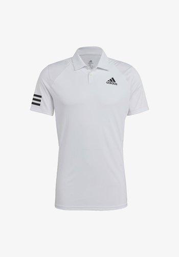 CLUB - Sports shirt - white/black