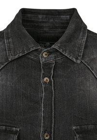 Brandit - HERREN RILEY DENIMSHIRT - Shirt - black - 2