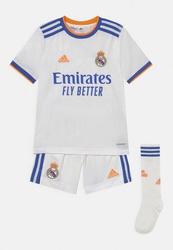 REAL MADRID H SET UNISEX - Klubové oblečení - white