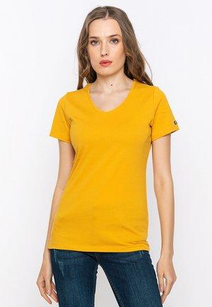 T-paita - mustard