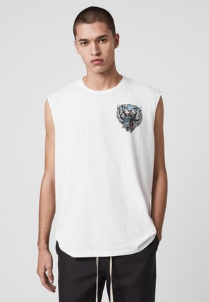 TWIN TIGER - Top - white
