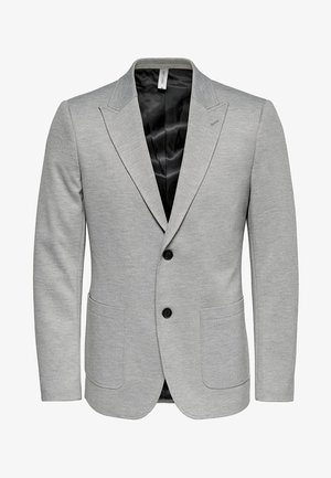 ONSELIAS - Blazer jacket - light grey melange