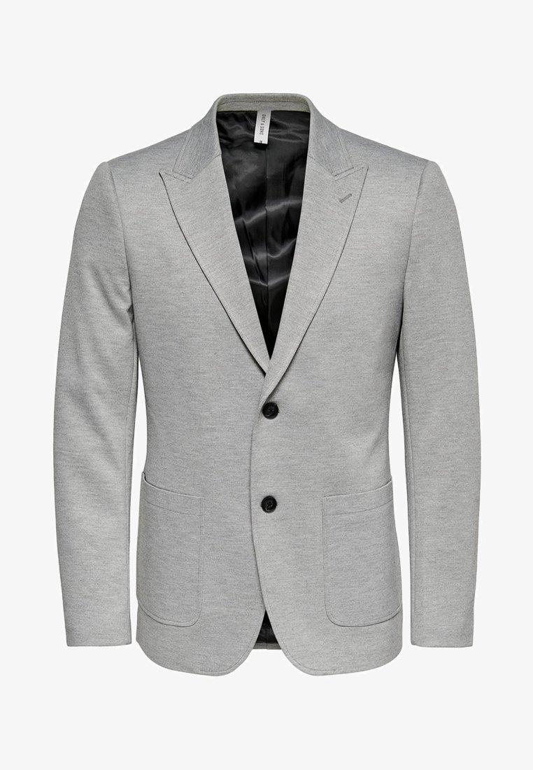 Only & Sons - ONSELIAS - Blazer jacket - light grey melange