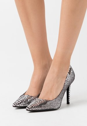 RIMELLE - High Heel Pumps - argent