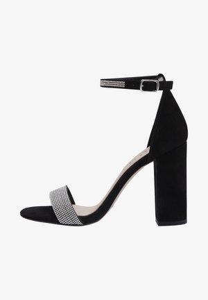 AVA - High heeled sandals - black