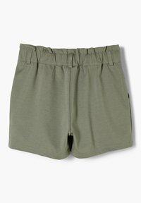 s.Oliver - MIT PAPERBAG-BUND - Shorts - olive - 1