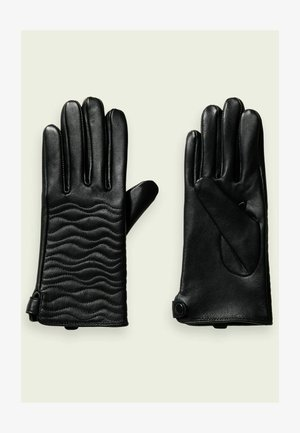 QUILTED - Gloves - black