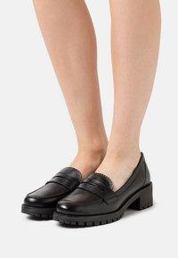 Dune London - GLINTTS - Įmautiniai batai - black - 0