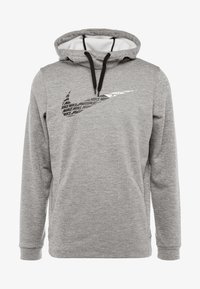 Nike Performance - THERMA  - Hættetrøjer - grey heather - 4