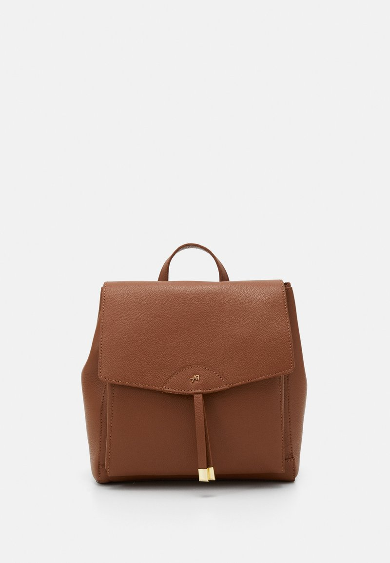 Anna Field - LEATHER - Rucksack - cognac