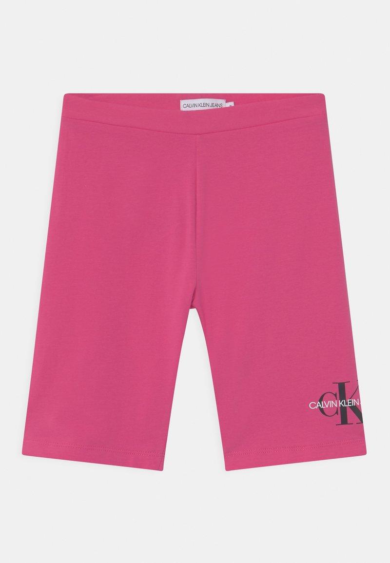 Calvin Klein Jeans - MONOGRAM CYCLING  - Shorts - pink