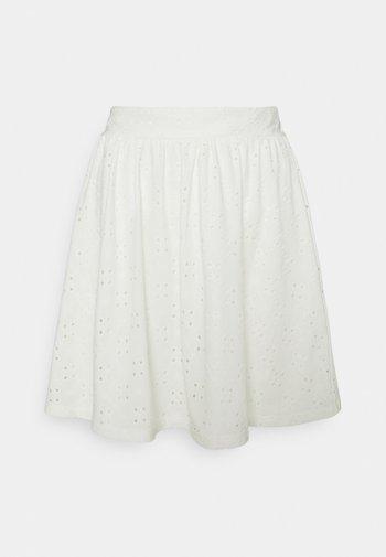 VIKAWA SHORT SKIRT - Mini skirt - cloud dancer