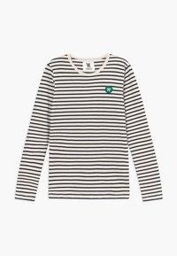 Wood Wood - KIM KIDS LONG SLEEVE - Langarmshirt - off-white/navy stripes - 0