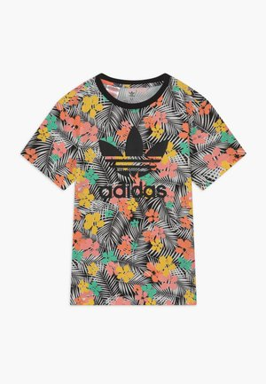 TEE - T-shirt med print - black/multicolour