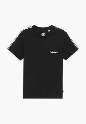 SHORT SLEEVES TEE - T-shirt z nadrukiem - black