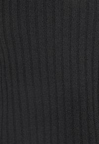 Gina Tricot - ELLA CROPPED CARDIGAN - Vest - black - 2